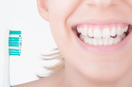Professionellen Zahnreinigung